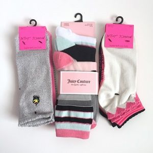 Betsey Johnson & Juicy Couture | Socks